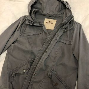 🔥NWOT - Hollister military jacket